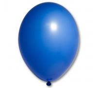 Шар латексный с гелием цвет синий