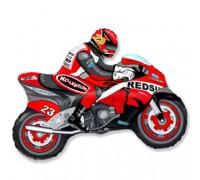 Шар фольгированный с гелием Мотоцикл
