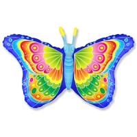 Шар фольгированный с гелием Бабочка-красавица