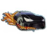 Шар фольгированный  с гелием Машина гоночная