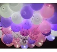 Светящийся гелиевый шар 4D управление пультом