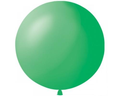 Шар латексный с гелием цвет зелёный размер 65 см