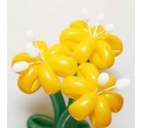 Лилии из воздушных шаров